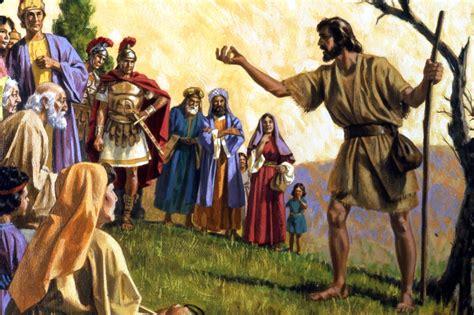 rich man  lazarus john  baptist  pharisees