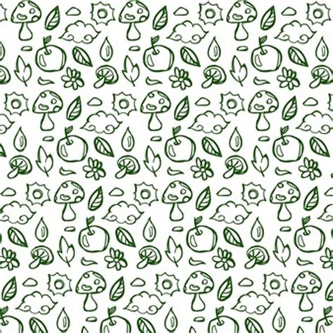 doodle nature doodle shape collection vector free