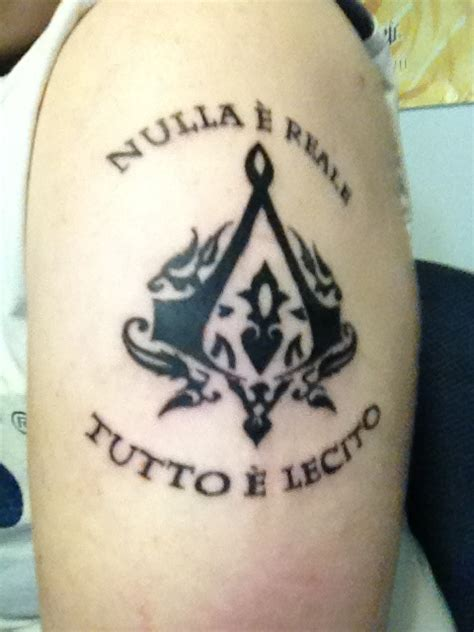assassin s creed tattoo my assassins creed tattoos