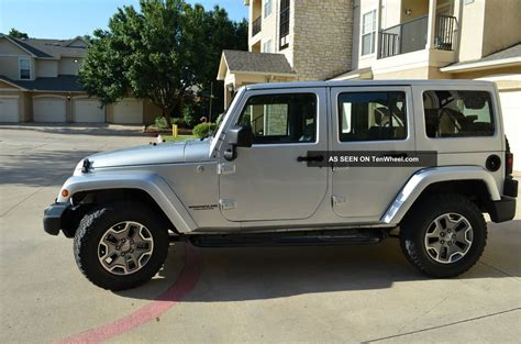Jeep Wrangler 4 Door 2010 2010 Jeep Wrangler Unlimited Sport Rhd Utility 4 Door 3
