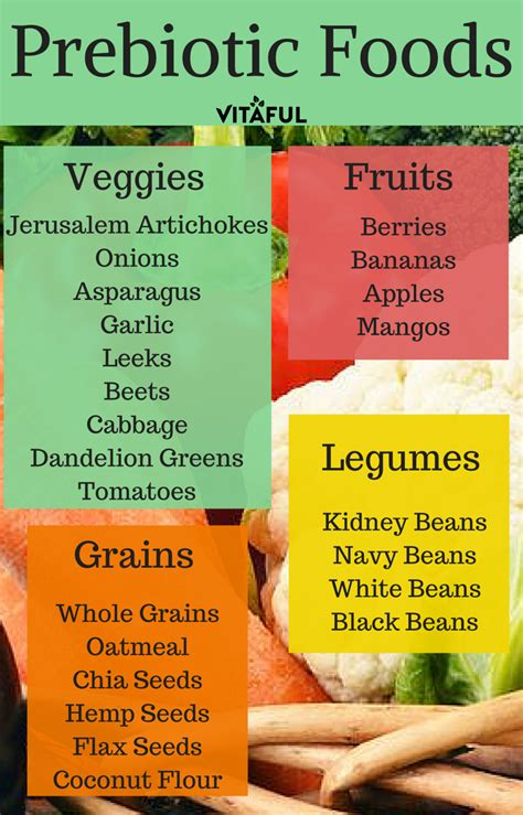 food with probiotics a list of prebiotic foods gut health probiotics probiotics