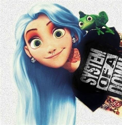 imagenes rapunzel hipster emo disney characters tumblr