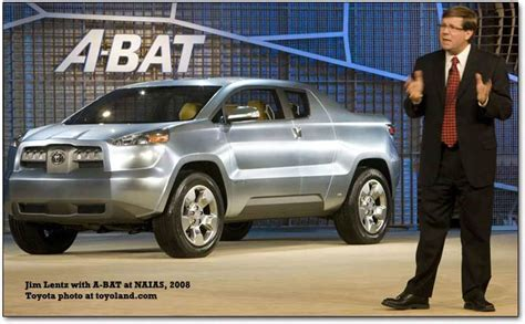 Hybrid Toyota Truck by Toyota A Bat Concept Truck A Hybrid Concept