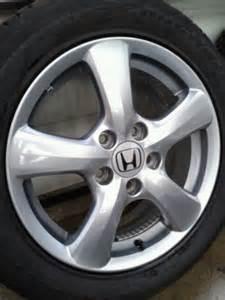 honda civic 16 inch alloy wheels tyres 205 55 16 genuine