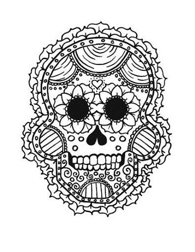 la catrina coloring pages free free coloring pages