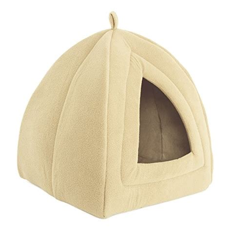 Enclosed Cat Bed by Cat Pet Bed Igloo Soft Indoor Enclosed Covered Tent