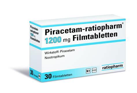 Piracetam 1200mg piracetam ratiopharm 174 1200 mg filmtabletten gelbe liste