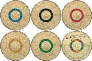 colored coins coloured 2 dollar olympic coins to be released the