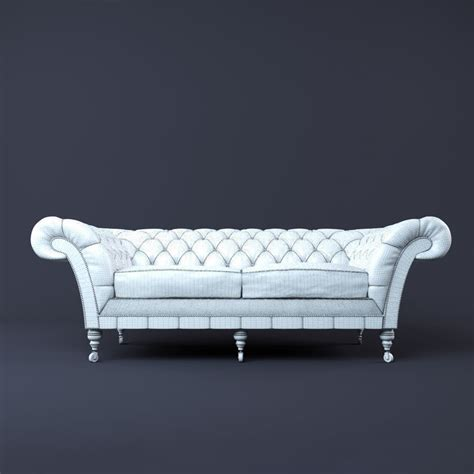 Free Chesterfield Sofa Chesterfield Sofa 3d Model 15 Fbx Obj Max Free3d