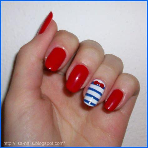 imagenes de uñas pintadas de helados u 241 as pintadas de marinero 4