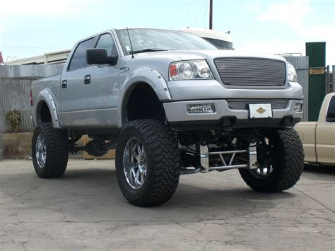 ford truck lifted lifted ford f150 4x4 crew cab off road wheels