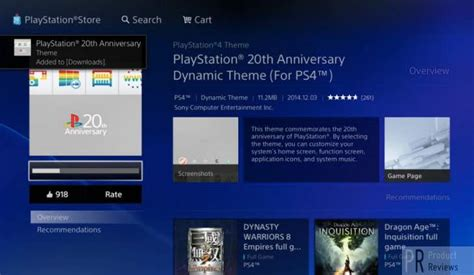 ps4 themes 20th anniversary ps4 20th anniversary theme download with surprise