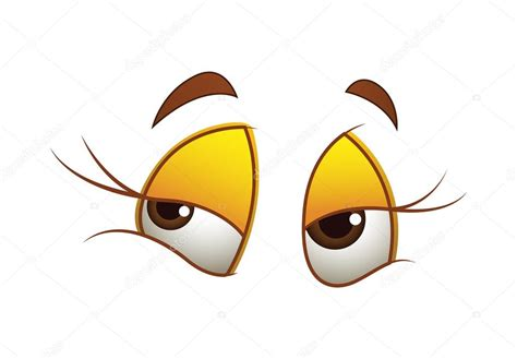 imagenes de ojos bonitos animados dibujos animados de ojos de mujer vector de stock