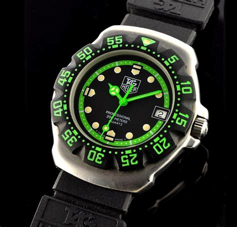 Tagheuer Cr7 Black Green ultimate guide to the tag heuer formula 1 the home of