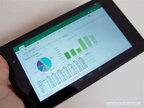ms office for android microsoft office for android tablets now available in open preview android central