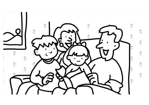 family reading coloring page gt coloring pages children reading wallpapersskin