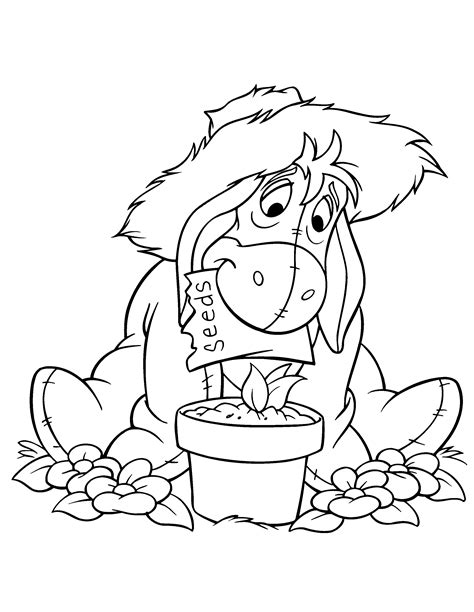 free coloring pages of pooh 9