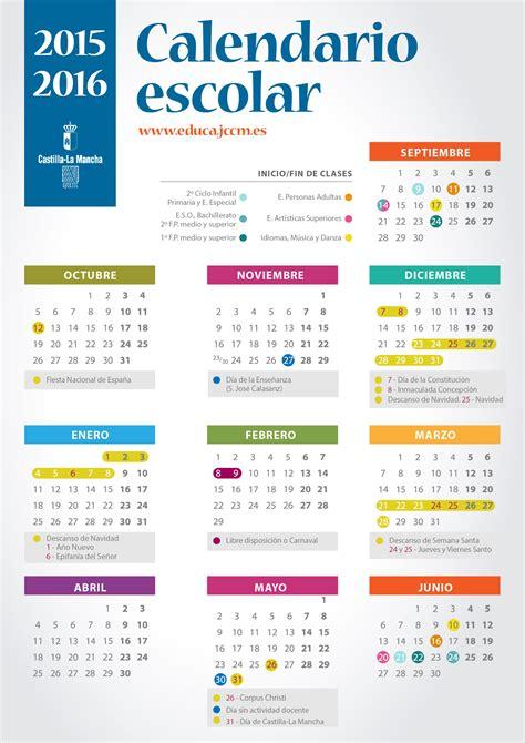 calendario escolar de la rioja 2015 2016 para imprimir calendario escolar escuela de arte talavera
