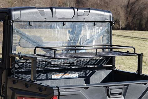 polaris ranger bed rack must have polaris ranger accessories side by side stuff
