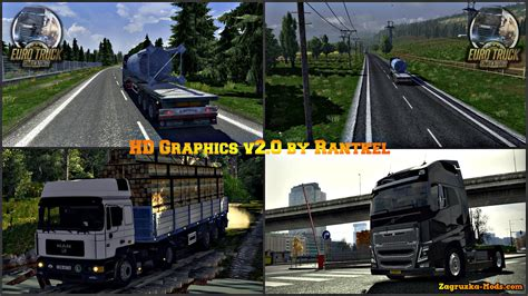 euro truck simulator 2 mod game modding hd graphics v2 0 by rantkel for ets 2 187 download game mods