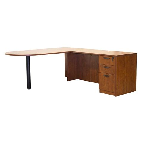 ofd office furniture bullet l shape desk w o hutch ofd