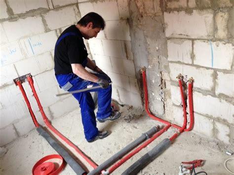 Wasserrohre Selbst Verlegen by Verlegung Wasserleitung Nebenkosten F 252 R Ein Haus