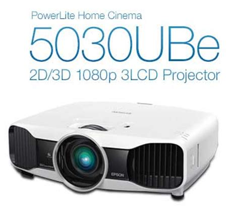 epson 5030ube 2d 3d 1080p 3lcd projector