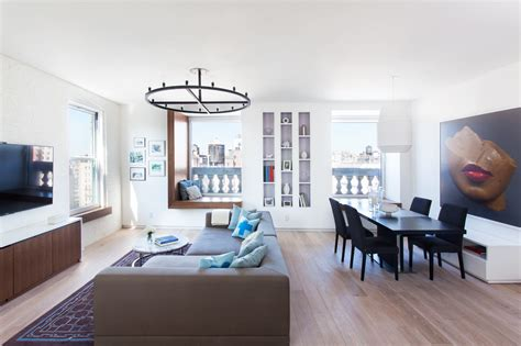 two apartments become a modern nyc home design milk