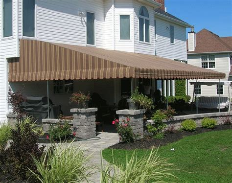 fixed awnings for decks 40 best images about awnings on pinterest pedestal