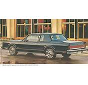 Lincoln Continental Town Car 1980