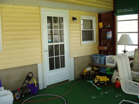 enclosed porch country style decor interior home design