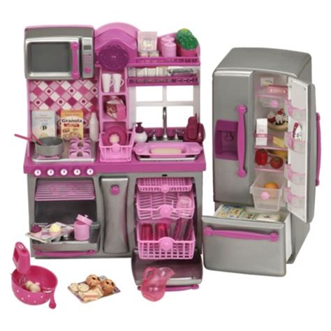 Doll Kitchen Set by Ultimate Guide For American Dolls Money