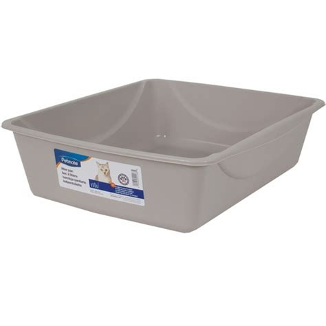 how to litter a small petmate litter pan with microban small assorted