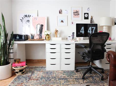 schreibtische vintage one room challenge office makeover with vintage finds