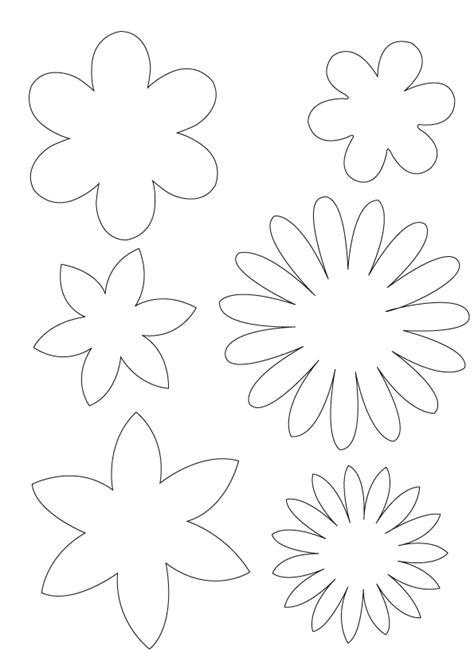 felt paper flower pattern felt flower pattern template pictures