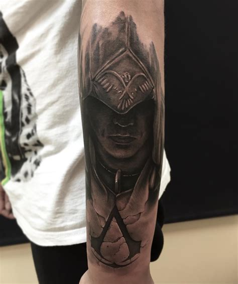 assassin s creed tattoo amazing assassin s creed tattoos page 4 artist