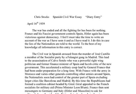 Causes Of Civil War Essay by Causes Of Civil War Essay