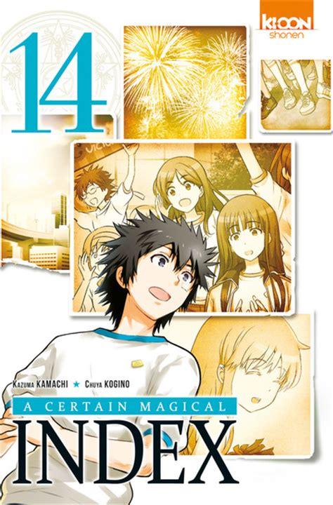 A Certain Magical Index Vol 1 Komik vol 14 a certain magical index news
