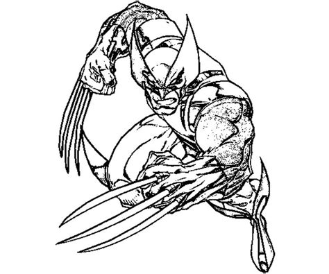 wolverine coloring pages for free 12 wolverine coloring page