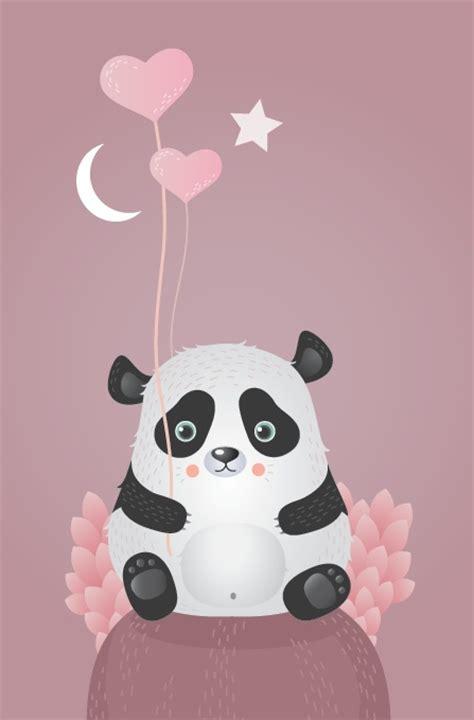 Panda Pink pink panda natalie guzev pandas youuuuu