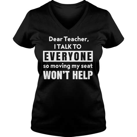 Tshirt Dont Talk Just Act Anime dear i talk to everyone so moving my seat won t help shirt hoodie