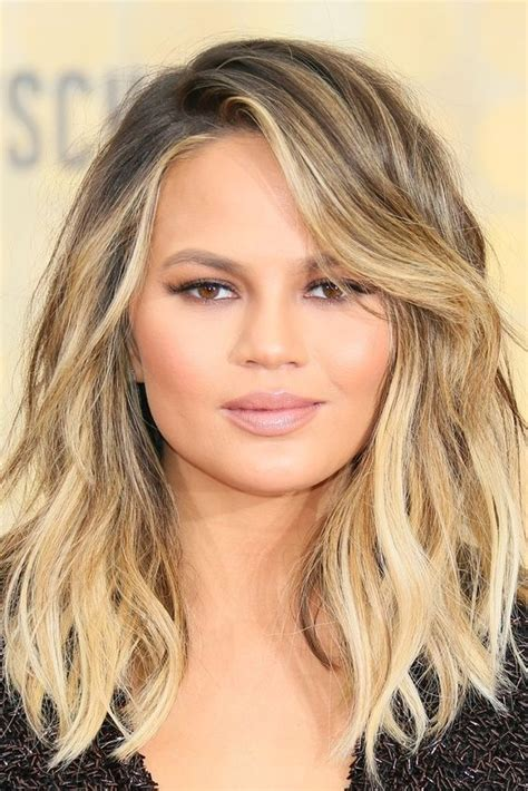 Curly Lob With Bangs Hair Color Ideas And Styles For 2018 | the 13 hottest hair trends of summer blonde lob summer