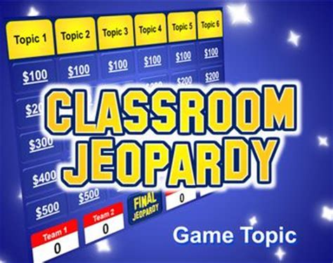 Jeopardy Powerpoint Template Plays Just Like Jeopardy Template Gaming And Plays Make Your Own Jeopardy Powerpoint