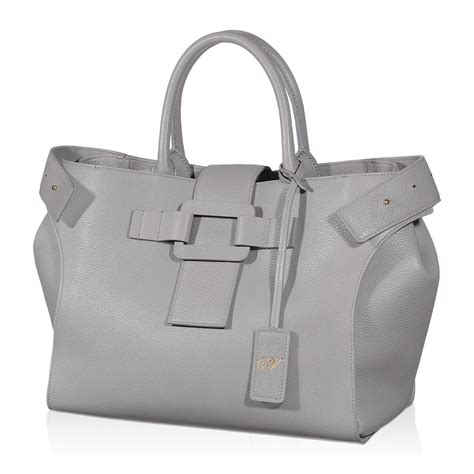day bags roger vivier small pilgrim day bag in gray lyst