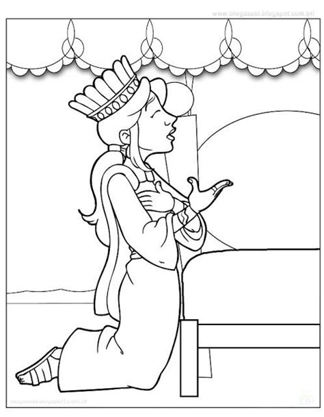 queen esther coloring page sunday school colouring 3