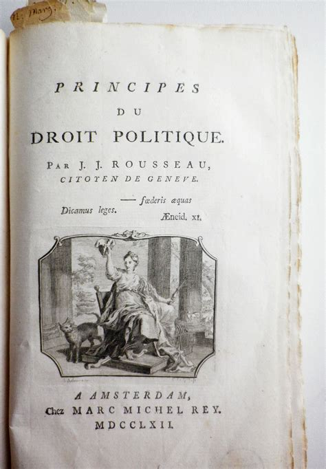 The Social Contract voltaire and rousseau the social contract