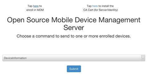 mobile device management open source mdm azing setting up your own mdm server 183 enterprise mac