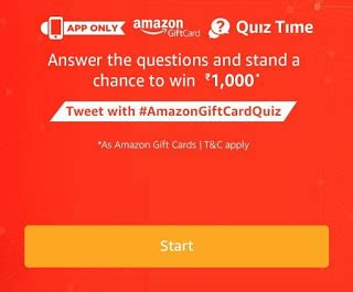 Quiz Gift Cards - all answers to amazon gift card quiz answer win rs 1000 200 winners free stuff