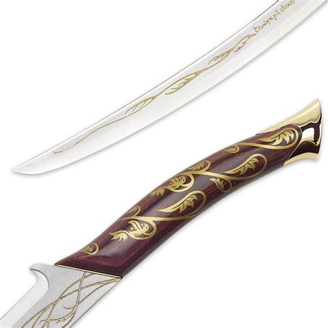 Pedang Lord Of The Rings Hadhafang Sword Uc1298 United Cutlery Lotr the lord of the rings hadhafang sword budk knives swords at the lowest prices
