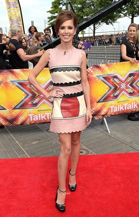 X Factor On The Carpet At I Am Legend Premiere by Cheryl Fernandez Versini Dazzles At X Factor Auditions